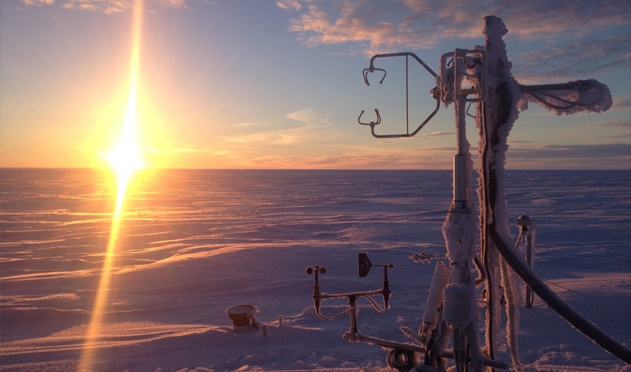 Global Warming's Frozen Giant
